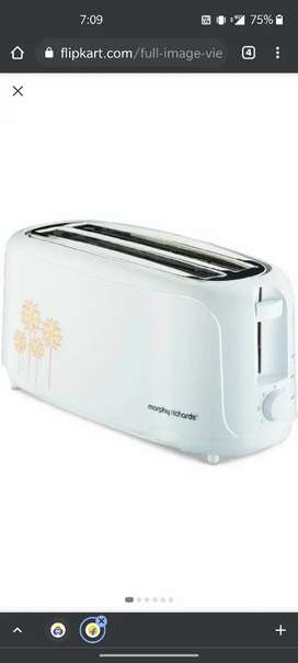 murphy richards toaster only 2 time used