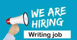 Male workers needed for MS writing job
