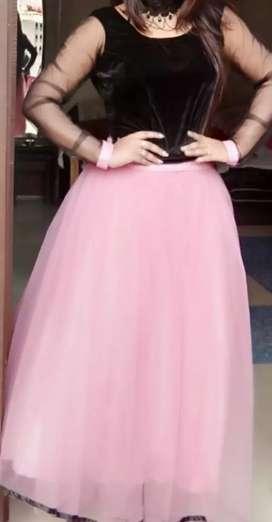 Western skirt top