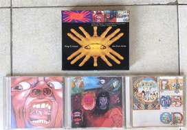 Jual CD Audio box set King Crimson kondisi OK