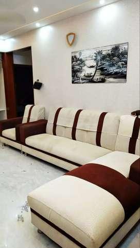 Fabric 6 Seated Sofa Set