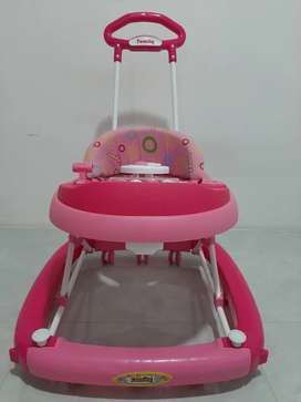 Dijual Baby Walker Pink Colour