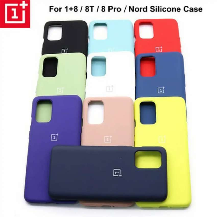 Oneplus 7 pro, 7t,8,8 pro, 8t official silicone case available