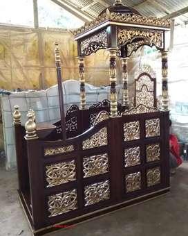 Mimbar Islam mimbar masjid terbaru