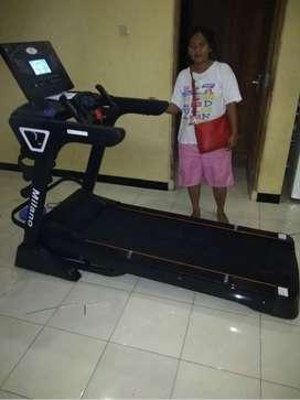 Treadmill elektric Fs Milano Fitness Olahraga Harga Grosir 456