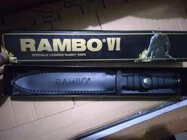 Koleksi Pisau Rambo IV First Blood Import Murah Pisau Outdoor Berburu