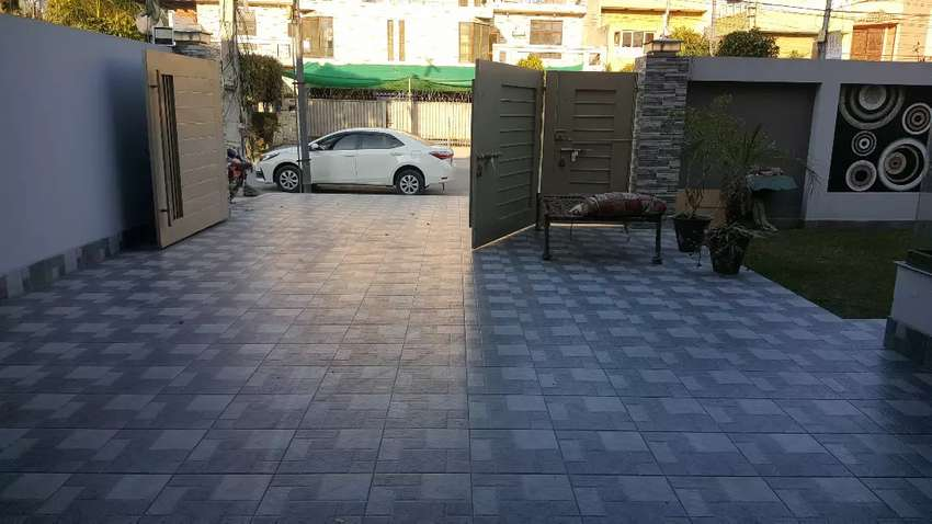Brand new one kinal Spanish bungalow 5bed for sale in johar town kanal 0