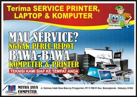 Service Laptop, Komputer & Printer