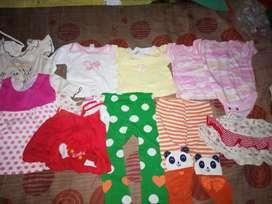 Baju bayi 3-12 bulan