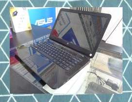Laptop HP 14 AMD A4-5000 1,5Ghz Hitam - SUPER MANTAB !