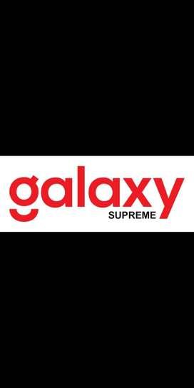 Design grafis kantor property galaxy supreme