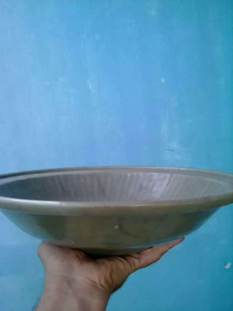 "Piring celadon antik "" dinasty yuan "" 0"