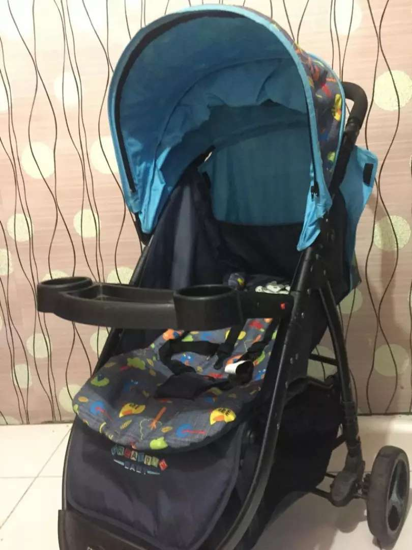 Stroller creative baby roda 3 0