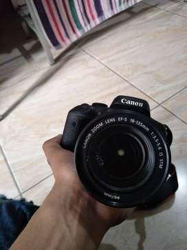 Kamera Canon EOS 750D Barang Mulus Terawat
