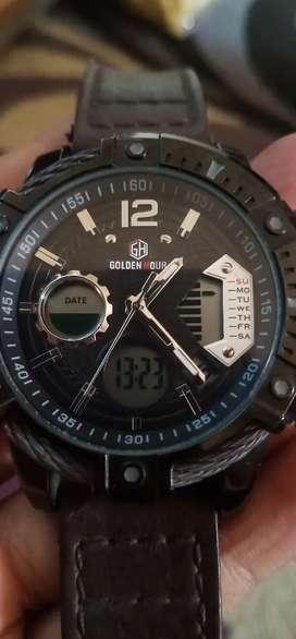 Jam tangan merk:GoldenHour