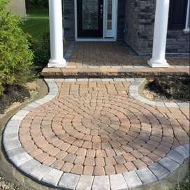 Pavers 60mm, 50 mm, Heat Insulation Tiles, Landscape items