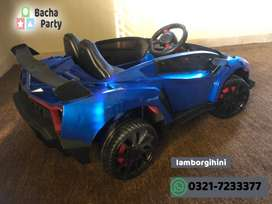 Lamborghini Ride on Car For Kids - Recommended Age 3- 6 Years