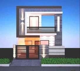 New built house in amrit vihar colony, 6 marla 2 bhk