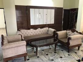 Brand new sofa with center table