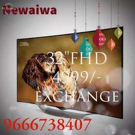 """Newaiwa 32"""" smart fhd exchange Ledtvs"""