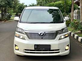Vellfire 2.4 V Premium Sound (Tertinggi) Putih 2011 Good Condition