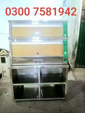 Hot show case 90000 we deal pizza oven deep fryer fast food setup etc