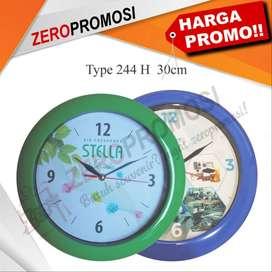 Grosir Jam Dinding Promosi Diameter 30 Cm kode 244h