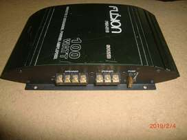 Fusion car power amplifier 100 watt made in japan