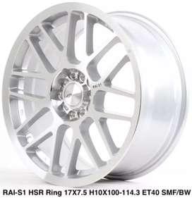 Hsr Rai-S1 ring 17x75 h5x114 et40smf