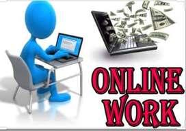 Online site work