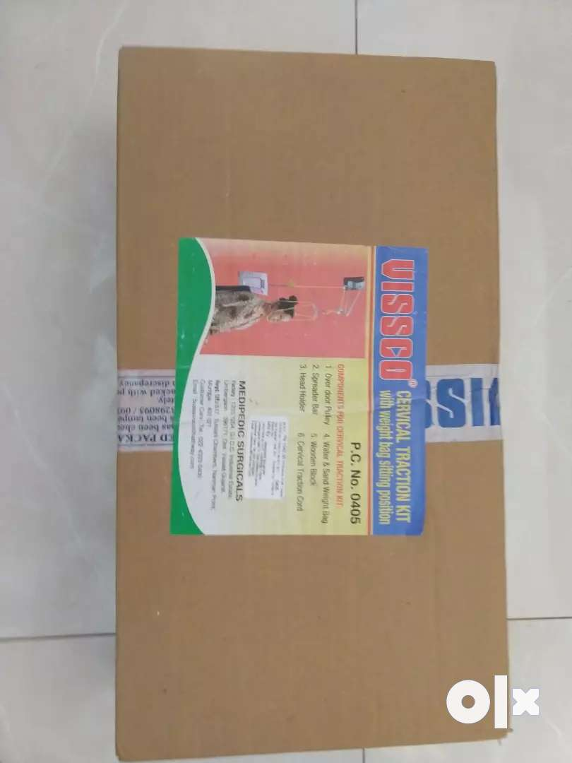 VISSCO cervical traction kit 0