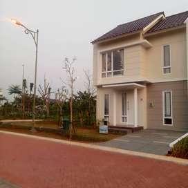 Jual murah bekas show unit carrillo residence free interior & KPR dp5%