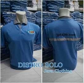 Kaos kerah, Polo Shirt Polos ( Bisa di bordir ), Baju Kerah Polos,