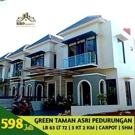 Rumah 2 lantai green taman asri pedueungan