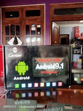 Head unit android Cartier 10inc
