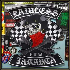 Backpatch Lawless Jakarta Official , seringai
