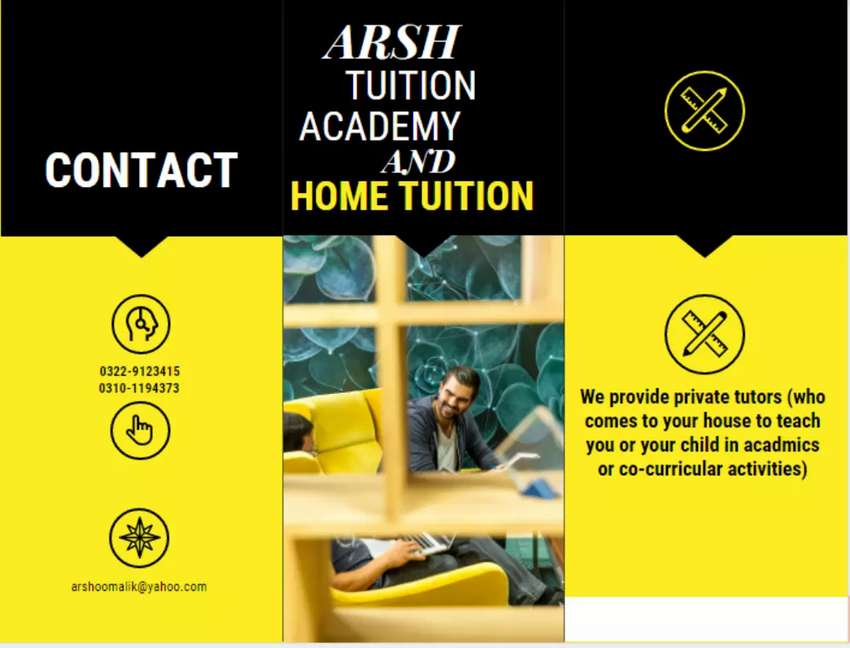 Arsh tuition academy & home tuition. 0