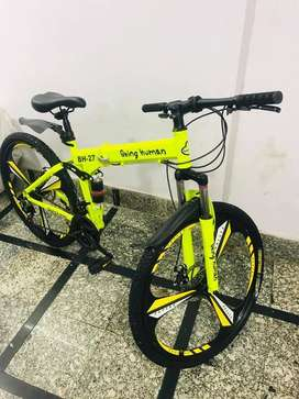 NEW IMPORTED 21 GEARS BEING HUMAN FOLDABLE CYCLE