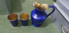 Orignal lapis jug and glasses for sale if anyone interested message me
