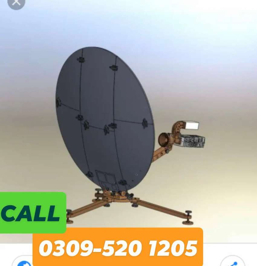"Dish antenna for sell 0345-360""99:25"