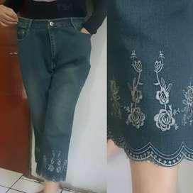 Celana jeans 3/4 Paket
