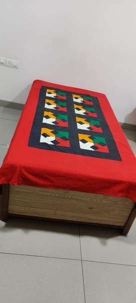 Strong, with storage single Deewan (Bed) and mattress