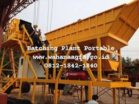 Batching Plant Mini Portable Terlaris