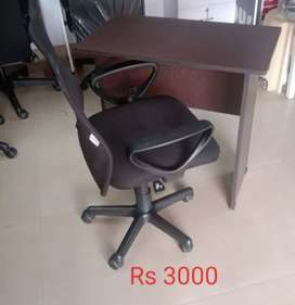 NEW TABLE AND USED CHAIR FOR SALE STARTING Rs 3000 WITH WARRANTY
