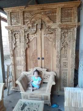 cuci gudang pintu gebyok gapuro jendela rumah masjid musholla yuli