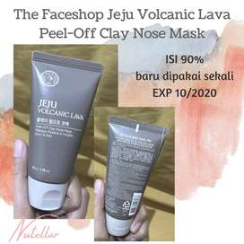 The Face Shop Jeju Volcanic Lava - Peel Off Clay Nose Mask