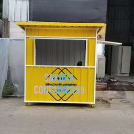 Booth container, booth makanan,booth bazzar, booth jasuke, booth usaha