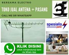 Menerima pemasangan signal antena tv murah bogor timur