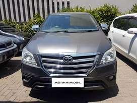 PROMO DP 38 Toyota Kijang Innova 2.5 G AT Diesel 2014 Abu ASTINA MOBIL