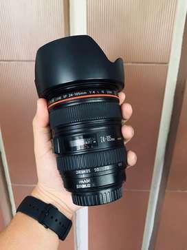 Jual Lensa Canon EF 24-105mm F4 L USM